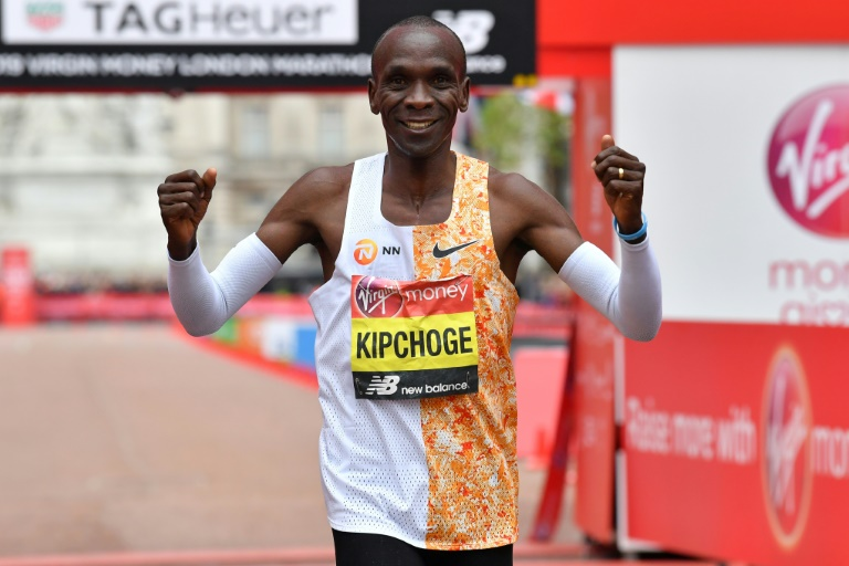 3271291a46fd Eliud Kipchoge won the London Marathon for the fourth time last month.