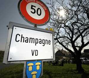 Swiss village Champagne loses another fight to get name on wine