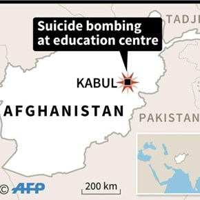 At least 25 killed in Kabul suicide attack