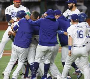 Dodgers end World Series drought with 3-1 victory over Rays