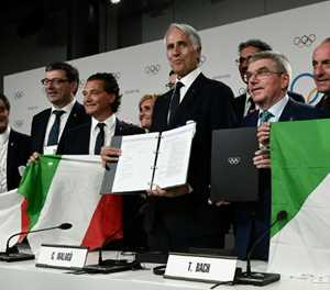 Italy risk Olympic exclusion over new sports law -- IOC