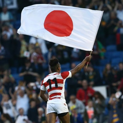 'Japanese John Travolta': the unlikely inspiration behind 2019 Rugby World Cup