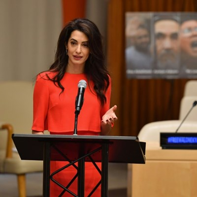 Amal Clooney appeals to Suu Kyi for reporters' release