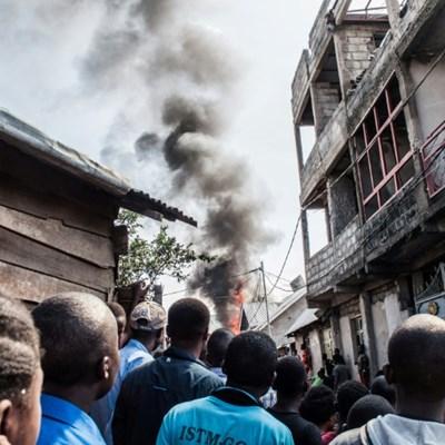Plane crashes into busy DR Congo city, killing 23
