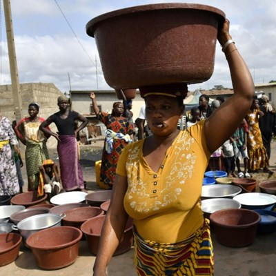'Water is life': Ivory Coast city struggles with crippling drought