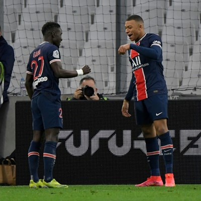 Mbappe sparks PSG win over Marseille, but Lille top in France