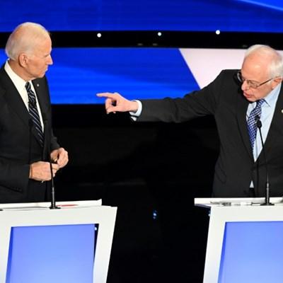 US Democrats lock horns over war, gender in last debate before Iowa