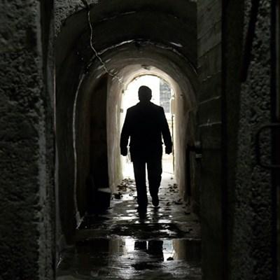 Tourists travel secret tunnels of Albania's communist-era paranoia