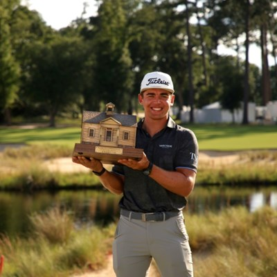 South Africa's Higgo earns first PGA win at Palmetto