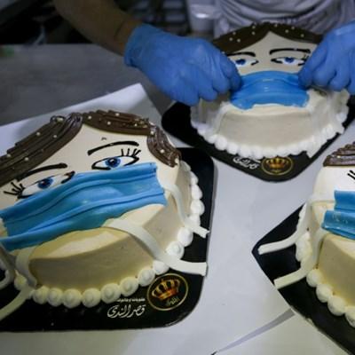 'Corona cake' spreading fast in Gaza