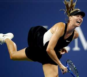 Sharapova downs battling 39-year-old Schnyder at US Open