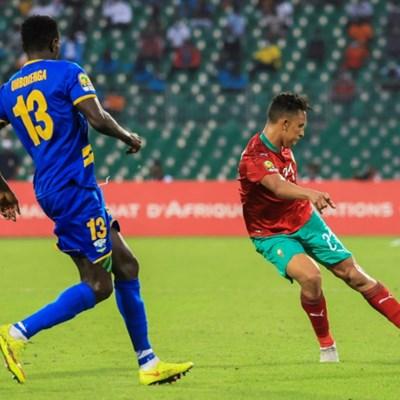 Rahimi nets twice as Morocco bury Uganda under five-goal avalanche