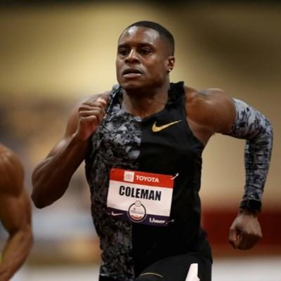 US speedster Coleman wins 60m heat in Albuquerque
