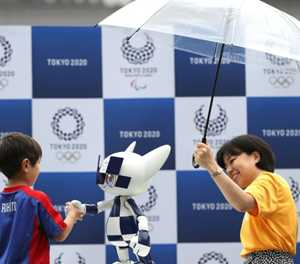 Mascots and javelin carriers: Tokyo adds robots to Olympic roster