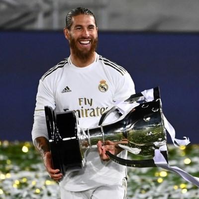 Emotional Ramos says goodbye to Real Madrid