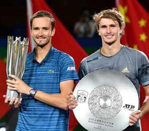 'Big Three' hail future stars of men's tennis