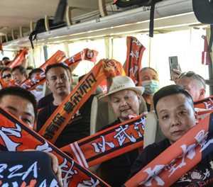 Wuhan fans 'can't sleep' ahead of attending first match since virus