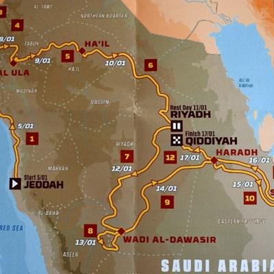 Dakar Rally unveils tough Arabian desert route for 2020