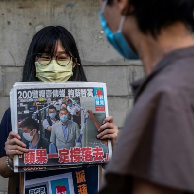 Defying China, Hong Kongers rush to buy pro-democracy newspaper