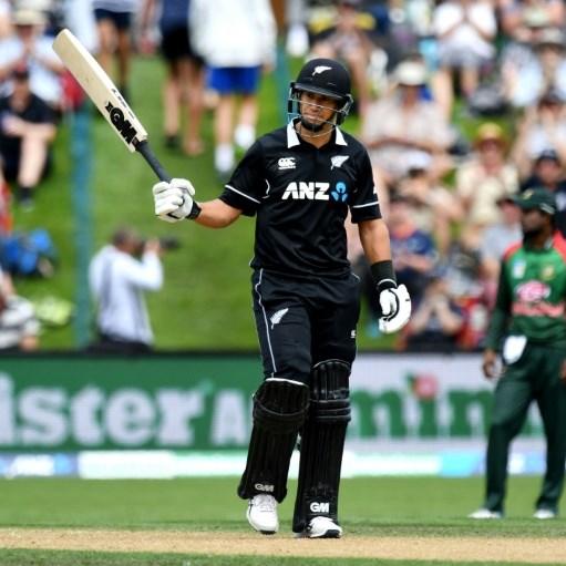 Taylor-made record as Black Caps flay Bangladesh attack