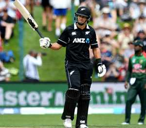 Taylor-made record as Black Caps flay Bangladesh attack