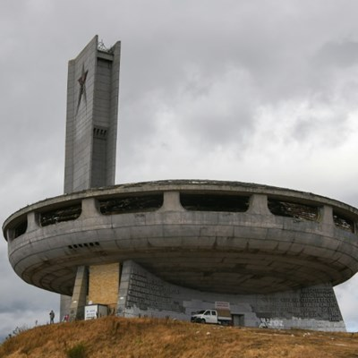 Rescue operation for Bulgaria's communist-era 'flying saucer'
