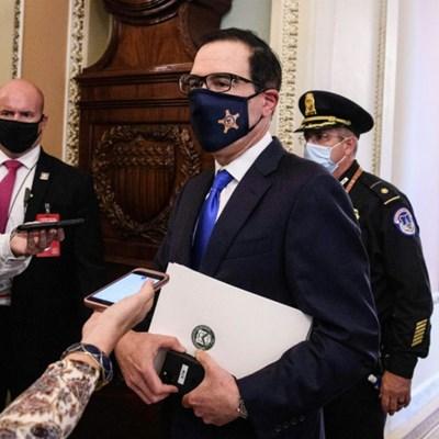 US stimulus hopes dim as Mnuchin says negotiators 'far apart'
