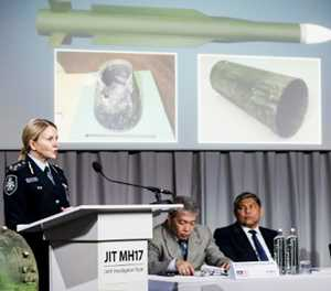 Dutch, Australia say Russia responsible for downing MH17