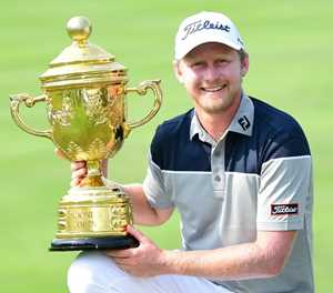 Golf: South Africa's Justin Harding wins Indonesia Open