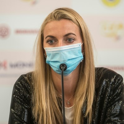 Kvitova relishes return to action in all-Czech tournament