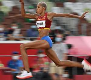 Venezuela's Yulimar Rojas sets new women's triple jump world record