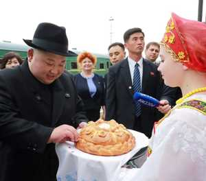 North Korea's Kim set for first summit with Putin