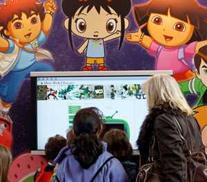 Children drowning in 'digital diet of pizza and sweets'