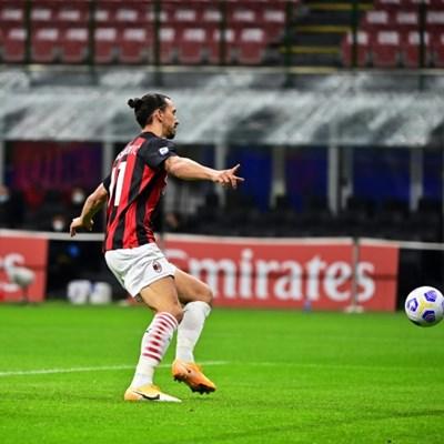 Ibrahimovic strikes twice but Roma level three times in Milan stalemate