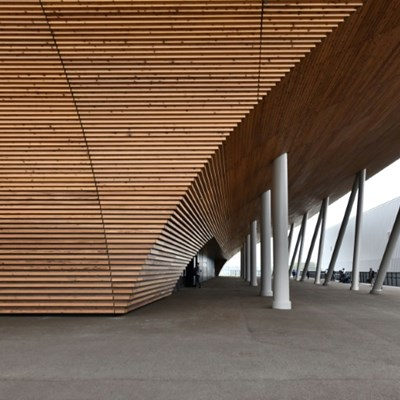 Tokyo unveils 2020 venue inspired by Japanese architecture