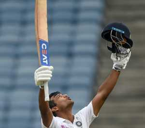 Agarwal hits ton as India dominate South Africa