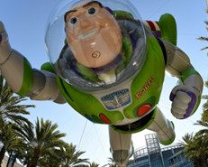 Woody, Buzz and... a plastic fork: the 'Toy Story' gang grows