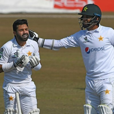 South Africa 37-1 after Rizwan's maiden hundred in second Test