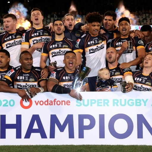 Brumbies cling on to beat Reds and win Super Rugby AU title