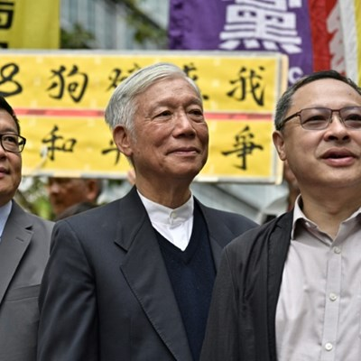 Prison looms for convicted Hong Kong democracy leaders