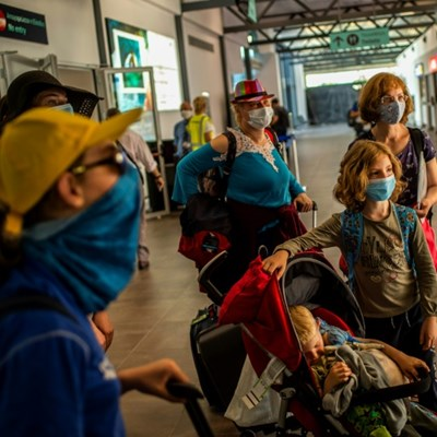 EU reopens to outside visitors as virus surges in US