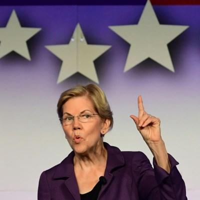 Warren edges ahead of Biden in latest US polls