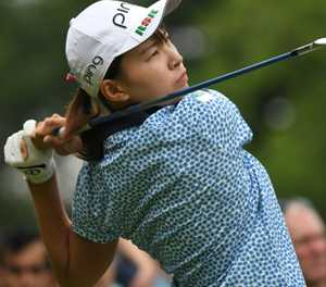 Japan's Shibuno on brink of fairytale win in first major
