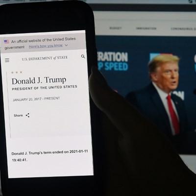 State Dept prematurely announces Trump departure