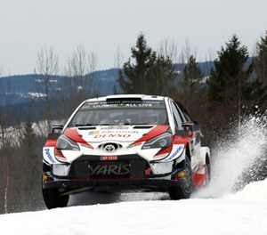 Drivers await big chill at too-warm Sweden rally