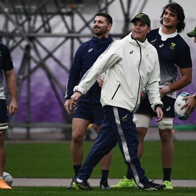 From depths of despair to World Cup final: Springbok coach Erasmus