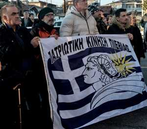 On Greek mainland, locals stonewall migrant relocations