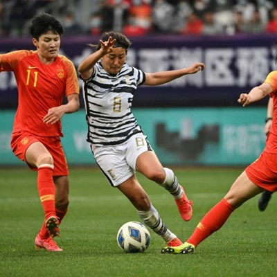 China beat S.Korea in extra time to seal Tokyo Olympics spot