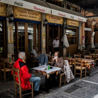 'Alive again' as Greece reopens restaurant terraces