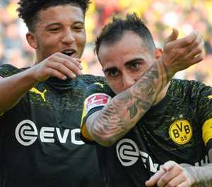 Facing Atletico is like 'toothache' for Dortmund goal-ace Alcacer